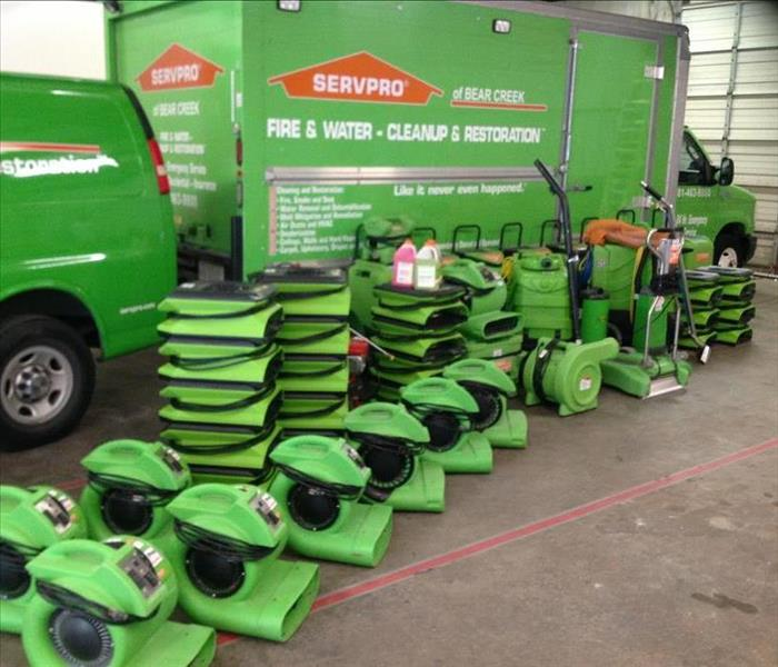 General SERVPRO of Bear Creek has more drying equipment